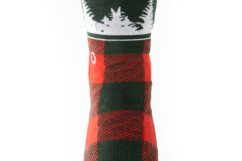 Lumberjack x Lost Forty (Red/Pine Green)