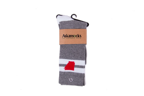 Tailgater (Charcoal Heather/Red)