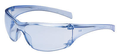3M Virtua AP Safety Glasses With Clear Frames And Light Blue Hard Coat Lens (20 Per Case)