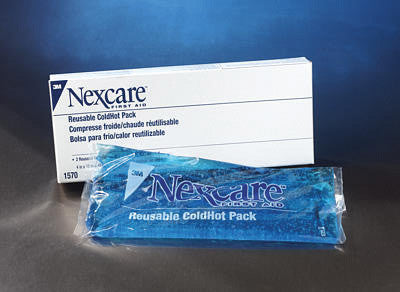 "3M 4"" X 10""  Nexcare Reusable Cold or Hot Pack With Cover (2 Per Box)"