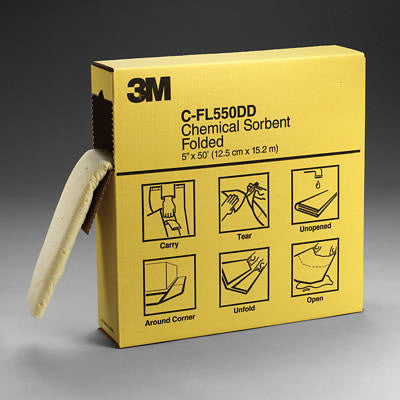 3M Folded High Capacity Chemical Sorbent