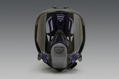 3M Medium Ultimate FF FX-400 Full Face Facepiece With Scotchgard Lens Coating
