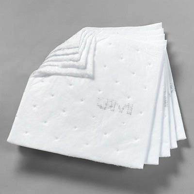"3M Petroleum Sorbent Pad High Capacity 17""x19"""