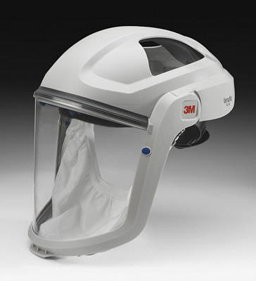3M Versaflo M-107 Respiratory Faceshield Assembly With Premium Visor And Faceseal