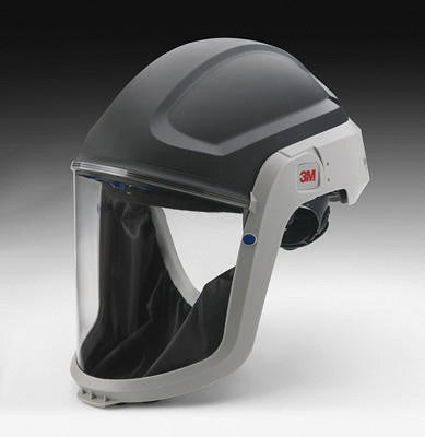 3M M-307 Versaflo Respiratory Hardhat Assembly With Premium Visor And Faceshield (1 Per Case)