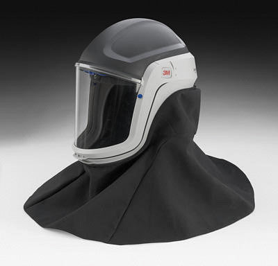 3M M-407 Versaflo Respiratory Helmet Assembly With Premium Visor And Flame Resistant Shroud (1 Per Case)