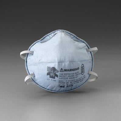 3M 8246 R95 Particulate Disposable Respirator - NIOSH 42CFR84 (20 Each Per Box)