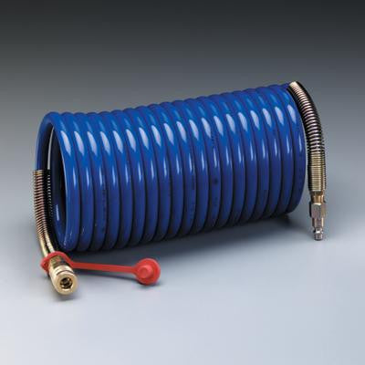 "3M Supplied Air Hose High Pressure Coiled 25' 3/8"" ID"