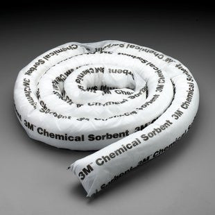"3M Chemical Sorbent Mini-Boom 3"" X 12'"
