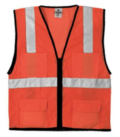 Economy Series 6-Pocket Mesh Vest