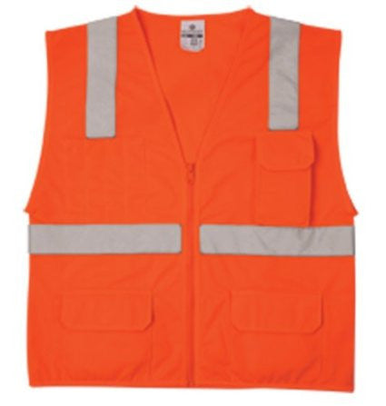 Economy Series Multi-Pocket Solid Vest