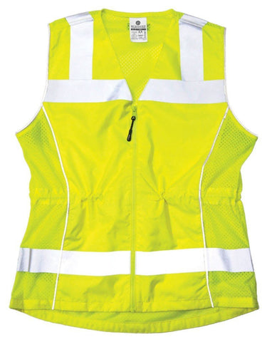 Deluxe Ladies Class 2 Fitted Vest