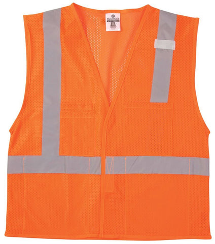 Velcro Front Multi-Pocket Vest
