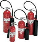 Amerex 20 Pound Carbon Dioxide Fire Extinguisher Hose And Horn For Class B Fires