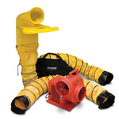 Allegro Industries Standard Blower System With Manhole Ventilation Passthru (MVP)