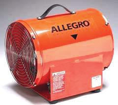 "Allegro Industries 12"" High Output Axial Blower"