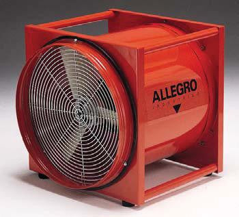 "Allegro Industries 16"" Standard Axial Blower"