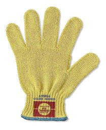 Ansell GoldKnit - Medium Weight - Kevlar String Knit - Cut Resistant Glove - Size 8