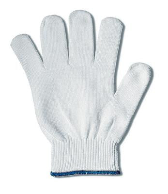 Ansell Size 9 White KleenKnit Light Weight Nylon Low-Linting Inspection Gloves