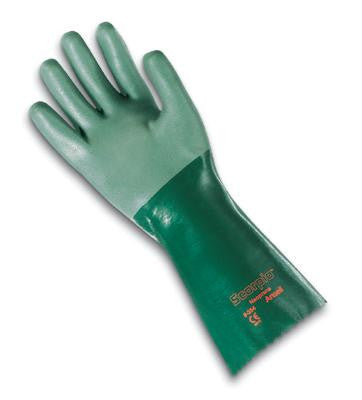 "Ansell Size 10 Scorpio Neoprene Fully Coated 14"" Glove With Gauntlet Cuff"
