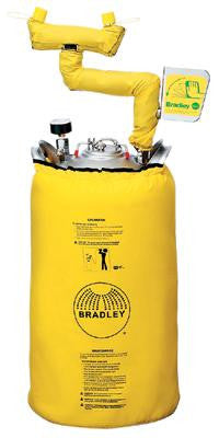 Bradley 10 Gallon Portable Pressurized  Eye Wash Unit With Heater Jacket