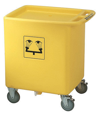 Bradley On-Site Waste Cart For Model S19-921 Eye Wash Station
