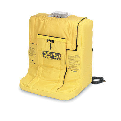 Bradley On-Site Portable Gravity-Fed  Eye Wash With Wall-Mounting Bracket And Heater Jacket
