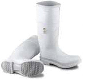 "Onguard Industries Size 10 White 16"" PVC Kneeboots With Safety-Loc Outsole And Steel Toe"