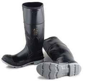 "Onguard Industries Size 10 Polyblend Black 16"" Polyurethane And PVC Boots With Cleated Outsole And Steel Toe"
