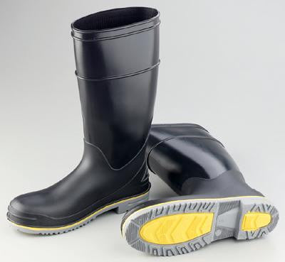"Onguard Industries Size 11 Flex 3 Black 16"" PVC Boot With Power Lug Outsole And Steel Toe"
