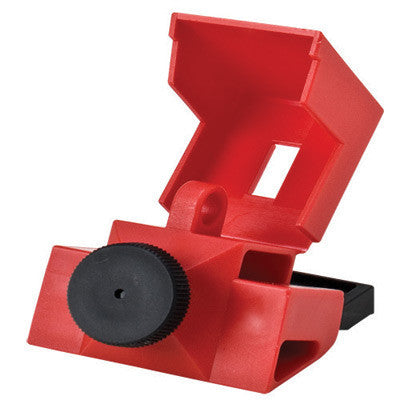 Brady Red Polypropylene And Nylon Clamp-On 480/600 Volt Breaker Lockout