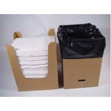 "Brady SPC DnD Dispense-n-Dispose System With 15"" X 19"" Oil Sorbent Pad"