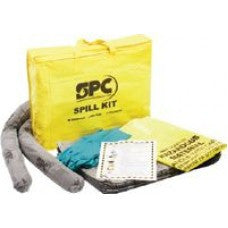 Brady SPC Highly Visible Yellow PVC Bag Kit For Small Spills