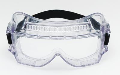 3M 452AF Centurion Impact Goggles With Clear Frame And Clear Anti-Fog Lens