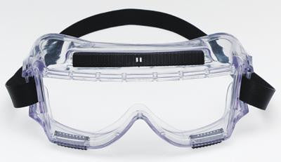 3M 454 Centurion Chemical Splash Goggles With Clear Frame And Clear Lens