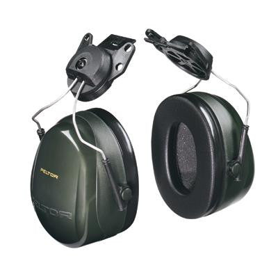 3M Peltor Black Model X5P3E/37279 Cap Mount Hearing Conservation Earmuffs