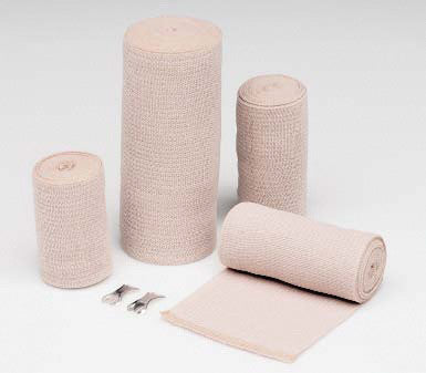 "Hartmann-Conco 6"" X 4 1/2 Yards Tan Econo-Wrap LF Latex-Free Reinforced Elastic Wrap (60 Per Case)"