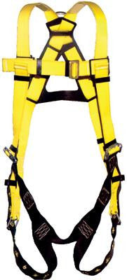 DBI/SALA Universal Size Vest Style Full Body Harness With Tongue Buckle Straps