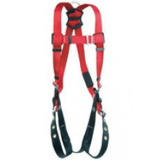 DBI/SALA Medium/Large Protecta PRO Full Body Line Positioning Harness With Tounge-Buckle Leg Straps, Back, And Side Positioning D-Rings