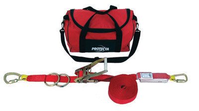 DBI/SALA 60' PRO-Line Temporary Horizontal Lifeline System With Carry Bag