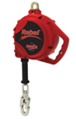 Capital Safety DBI-SALA 33' Protecta Rebel Self Retracting Lifeline With 5mm Galvanized Cable, Aluminum Housing And Carabiner