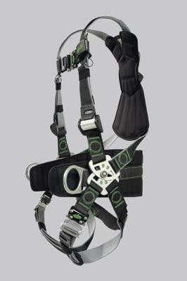 Miller Universal Revolution Welder's Harness With DualTech Webbing, Removable Belt, Side D-Rings And Pad And Quick Connect Buckle Legs