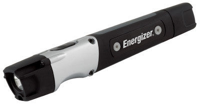 Energizer Hardcase Black LED Inspection Flashlight (2 AAA Batteries Included)