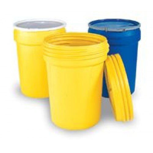 "Eagle Haz-Mat 95 Gallon Polyethylene Containment Overpack Drum With Screw Top Lid 31"" X 45"""