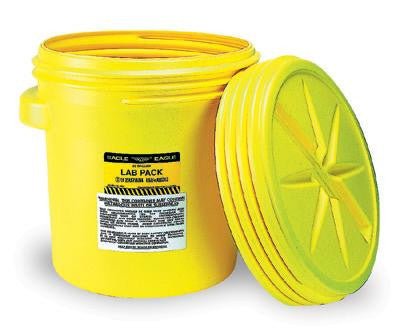"Eagle Haz-Mat 20 Gallon Polyethylene Containment Lab Pack With Screw Top Lid 20 1/2"" X 21 1/4"""