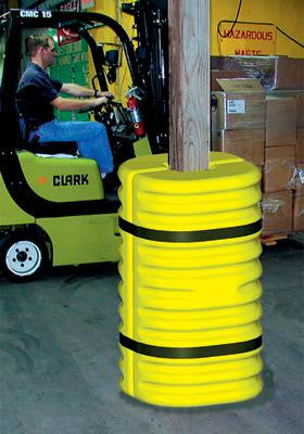 "Eagle Yellow/Black Column Protector For 6"" Column"