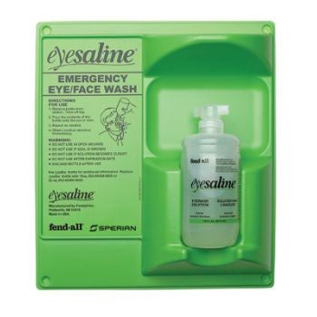 Fend-all 32 Ounce Sperian Sterile Saline Single Bottle  Wall Station