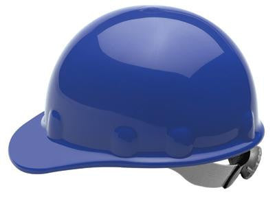 Fibre-Metal Blue SuperEight SwingStrap Series Class E, G or C Type I Thermoplastic Hard Cap With SwingStrap Suspension