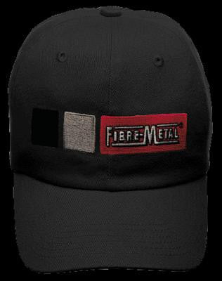 Fibre-Metal Black Homerun Cotton Baseball Style Bump Cap