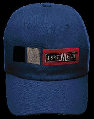 Fibre-Metal Blue Homerun Cotton Baseball Style Bump Cap
